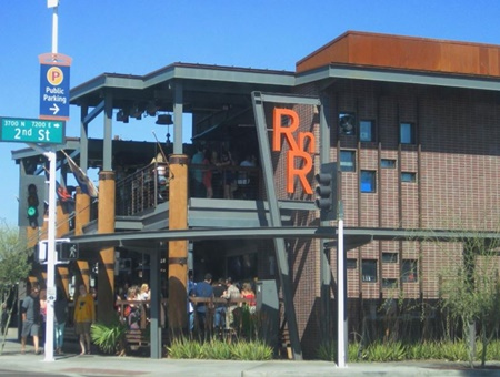 RnR Restaurant and Bar pet friendly restaurant with dogs allowed in Scottsdale, Arizona